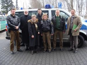 Bochumer Landtagsabgeordnete zu Besuch bei der Polizei