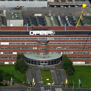 Opel-Werk Bochum (mit SchachtZeichen)