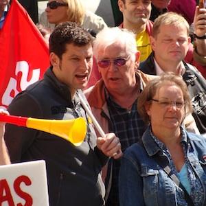 Thomas Eiskirch bei der Maikundgebung 2011