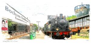 Wahrzeichen aus dem Wahlkreis: Eisenbahnmuseum Dahlhausen