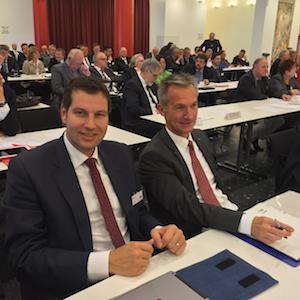 MdL Thomas Eiskirch und OB Frank Baranowski (aus dem Sprecherkreis der RuhrSPD) beim RVR