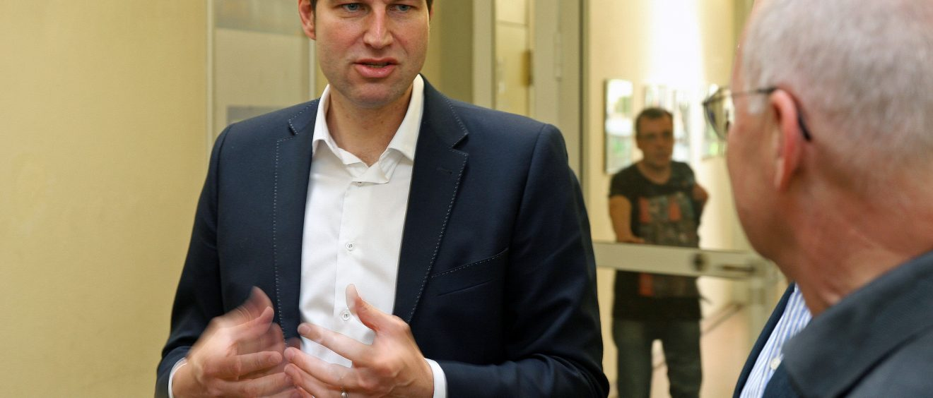 Thomas Eiskirch im Bochumer Norden (1)