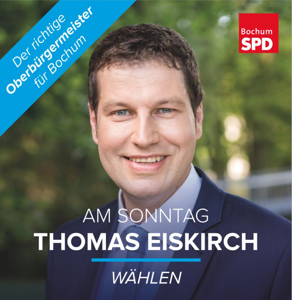Am Sonntag Thomas Eiskirch wählen