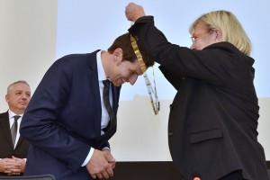 Vereidigung Thomas Eiskirch in der Ratssitzung der Stadt Bochum mit Amtskette - Foto: Lutz Leitmann/Stadt Bochum