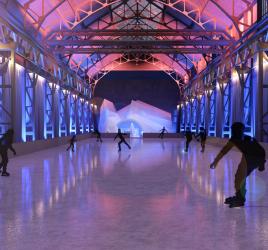 EisSalon Ruhr in der Bochumer Jahrhunderthalle - © Bochumer Veranstaltungs-GmbH