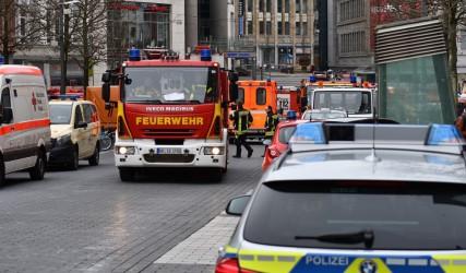 Evakuierung und Entschärfung eines Blindgängers am 25.01.2018 in der Innenstadt von Bochum. Foto: Lutz Leitmann / Stadt Bochum