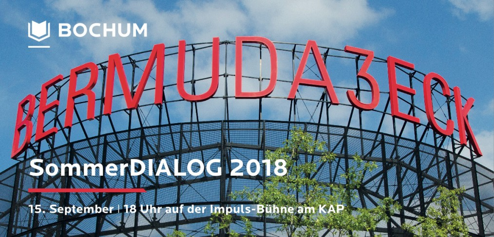 SommerDIALOG 2018 (am 15. September 2018 um 18 Uhr)