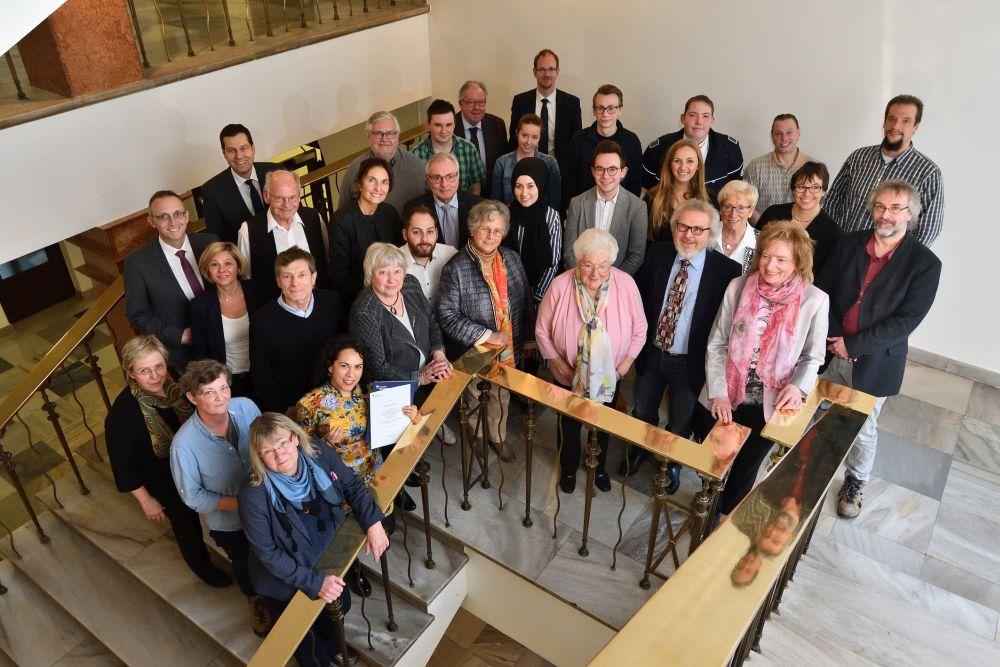 Ehrung der Ehrenamtlichen durch Oberbürgermeister Thomas Eiskirch am 22.03.2019. +++ Foto: Lutz Leitmann / Stadt Bochum