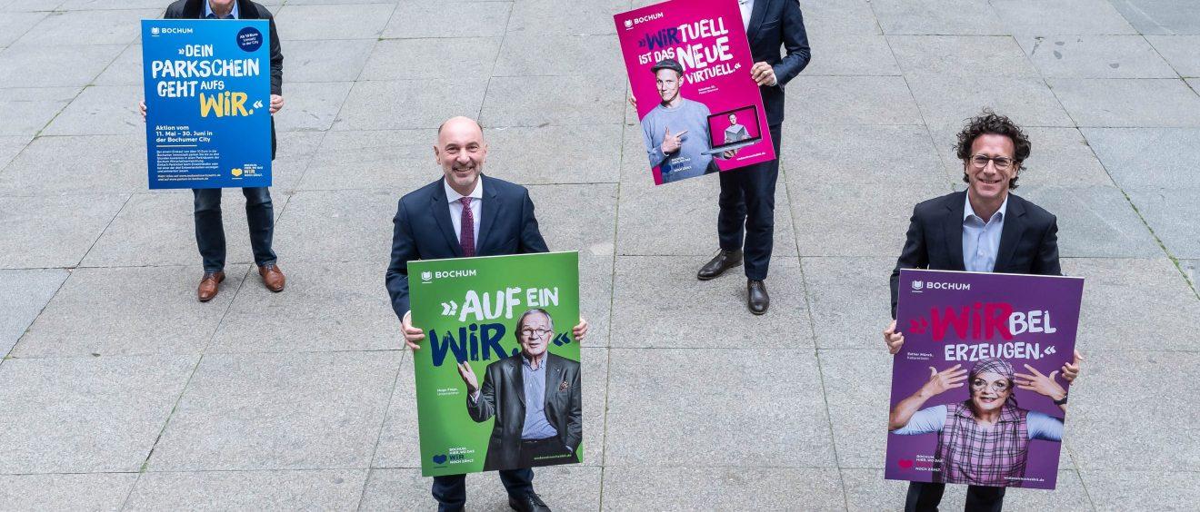 Die Kampagne hat verschiedene Motive. Foto: Lutz Leitmann/Stadt Bochum