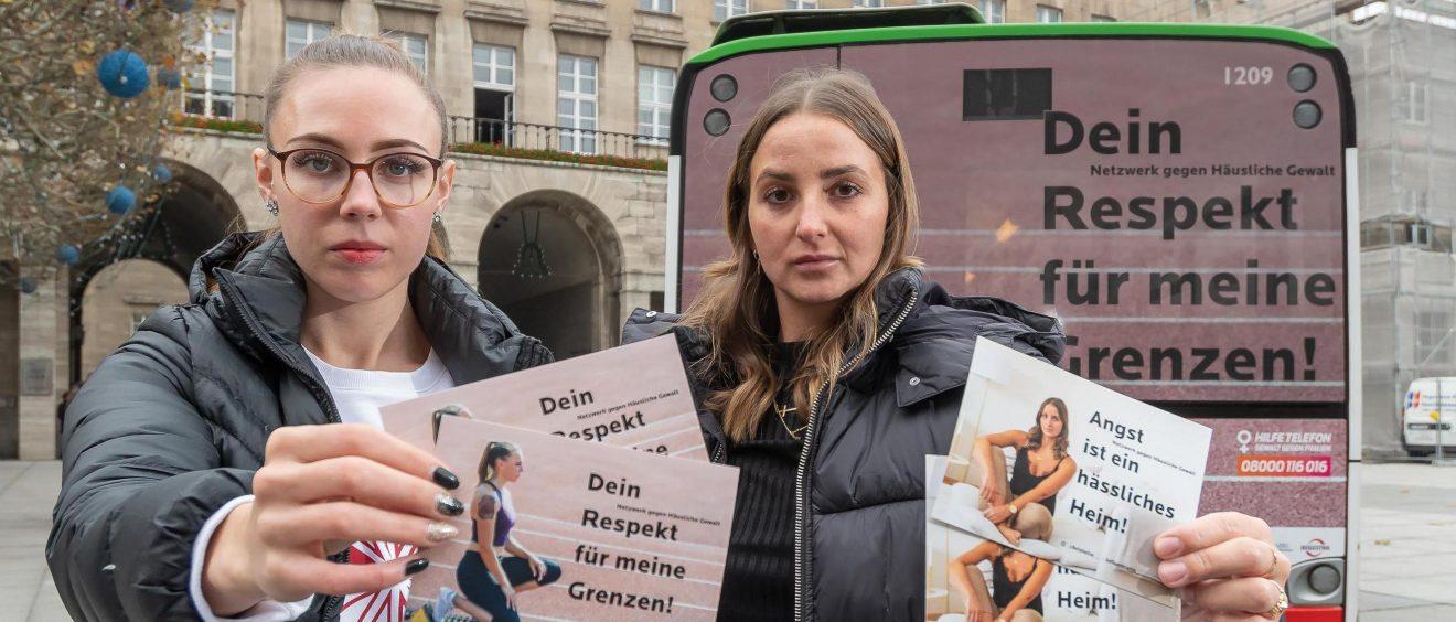 Auch die Kampagne gegen häusliche Gewalt hat dazu beigetragen, dass Bochum den zweiten Platz der Gender Awards gewonnen hat.
