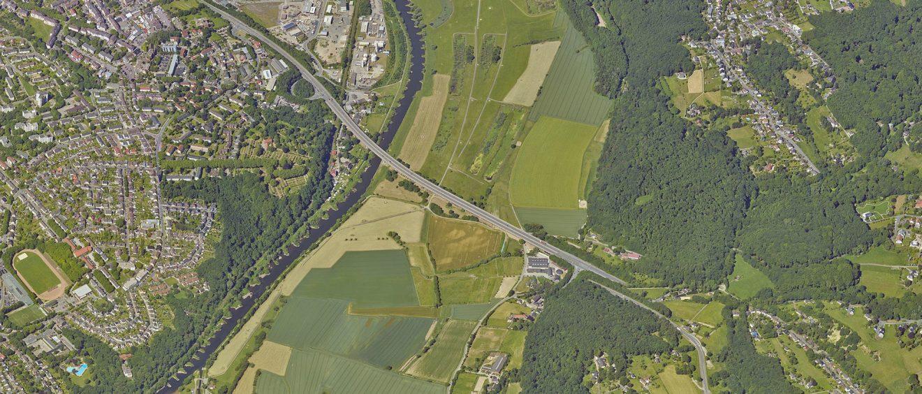 Die Ruhraue in Stiepel ist Bochums achtes und größtes Naturschutzgebiet. Foto: Stadt Bochum, Presseamt